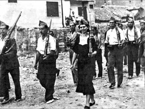 Guerra civil española por Gerda Taro