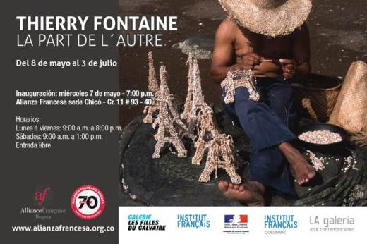 """Thierry Fontaine, """"La part de l´autre"""""""