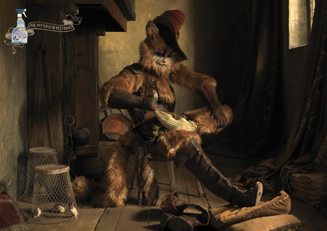 Gato con botas By Eugenio Recuenco