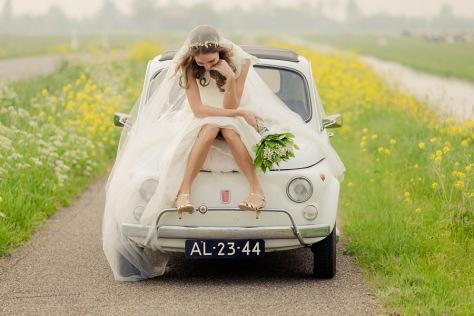 Retrato de novia - Gerhard Nel