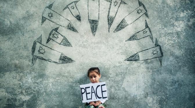 Mahmoud Al-Kurd, retrata los sueños de paz y libertad en Palestina