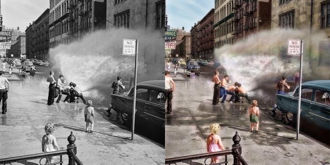 Wayne Degan, el artista que da color a las fotografías