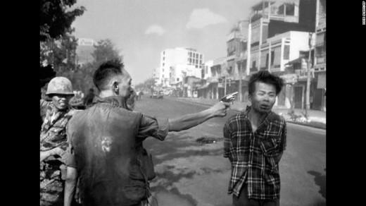 General Nguyen Ngọc Loan, ejecutó de un disparo a Nguyen Van Lem - Eddie Adams