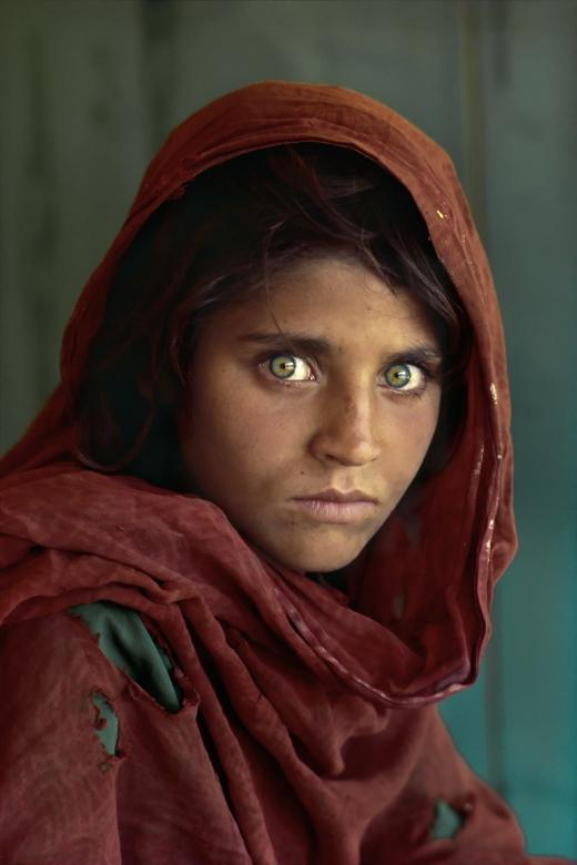 NIña afgana - Steve Mccurry