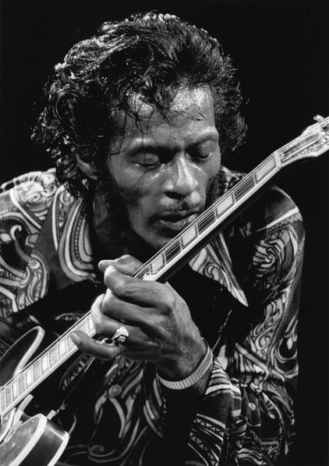 Chuck Berry . Bod Gruen