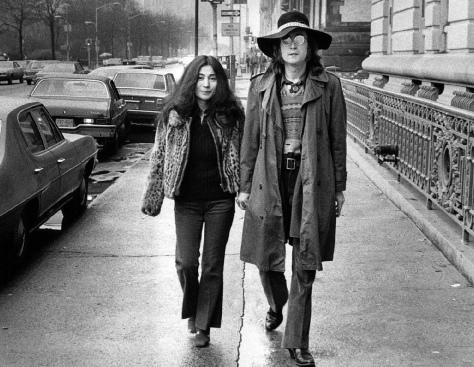 John Lenon - Yoko - Bod gruen - New York