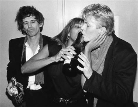 Keith Richards, Tina Turner y David Bowie - Bod G