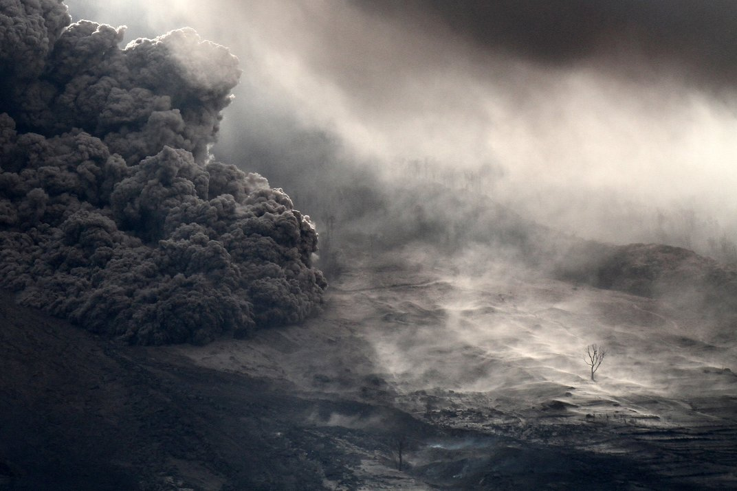 Remaining on the Slopes of Mount Sinabung