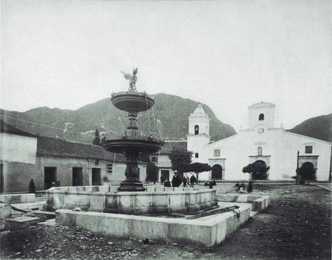 Pag 45 –iglesia o Ermita de Las Nieves - libro Bogotá 1900 publicado por Villegas Editores