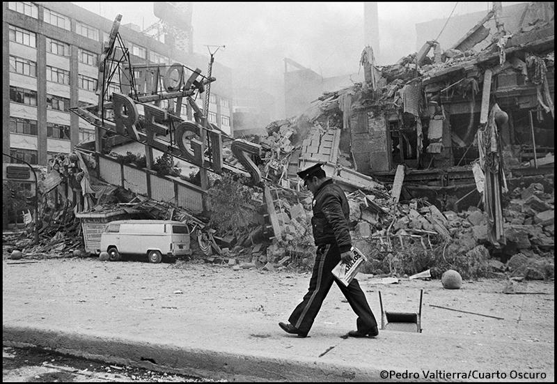 Ciudad de México, septiembre de 1985.- Terremoto en la Ciudad de México.